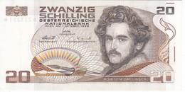 BILLETE DE AUSTRIA DE 20 SCHILLING DEL AÑO 1986 EN CALIDAD EBC (XF) (BANKNOTE-BANK NOTE) - Austria