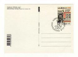 Document DANMARK DANEMARK Oblitération KOBENHAVN 08/11/2000 - Cartoline Maximum