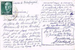 24741. Postal CALELLA De PALAFRUGELL (Gerona) 1958. Vista Poblacion - 1931-Hoy: 2ª República - ... Juan Carlos I