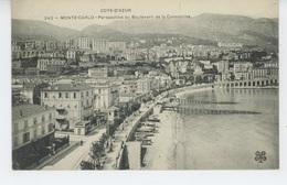 MONACO - MONTE CARLO - Perspective Du Boulevard De La Condamine - Monte-Carlo