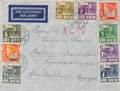 LAWANG / NED. INDIE - 1939 ,  Brief Nach Berlin - Niederländisch-Indien