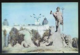 *Madrid. Fuente De Neptuno* Ed. 3D Stereorama Española S.A. Nº E-5012. Nueva. - Estereoscópicas