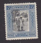Jamaica, Scott #B3, Mint Hinged, Native Boy And Girl, Issued 1923 - Jamaica (...-1961)