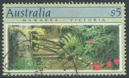 Australia. 1989 Botanic Gardens. $5 Used SG 1200 - 1980-89 Elizabeth II