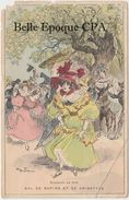 Illustration - ROBIDA - ROBINSON En 1830 - Bal De Rapins Et De Grisettes +++++ RARE / ÉTAT - Robida
