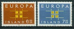 BM Island 1963 - MiNr 373-374 - MNH ** - Europa Cept - 1944-... Republik