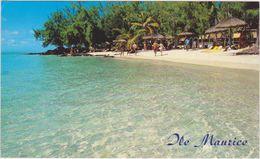 Ile Maurice,mauritius,ile Aux Cerfs,autrefois Ile De France,océan Indien,mascareignes,plage - Ansichtskarten