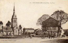 CPA - COULMIER-le-SEC (21) - Aspect De La Place En 1936 - France