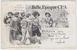 PARIS 06 - Librairie DORBON Aîné - 53 Ter, Quai Des Grands-Augustins ++++ Illustration - ROBIDA +++++ 1903 - Arrondissement: 06