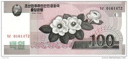 North Korea P.61  100 Won 2009  Unc - Corea Del Nord