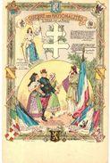 CPA N°787 - GUERRE DES NATIONALITES - L´ UNION FAIT LA FORCE - Patriotic