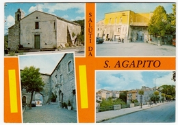 SALUTI DA S. AGAPITO - ISERNIA - 1993 - Isernia