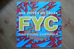 Fine Young Cannibals - She Drives Me Crazy - Pop - Vinyle Maxi 45T - 1988 (Voir Scan Et Description) - 45 G - Maxi-Single