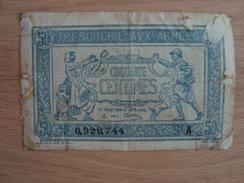 BILLET TRESORERIE AUX ARMEES - Treasury