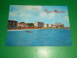 Cartolina Igea Marina - Alberghi Dal Mare 1971 - Rimini