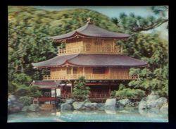 *Temple Japonais. Kinkakuji Temple, Kyoto* Postal 3D. Ed. Visiorelief. Nueva. - Estereoscópicas