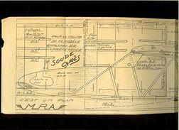 Aviation -Plan  De Planeur De Début  J.Morisset  FAON 120 - Autres Collections