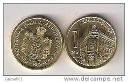 Serbia 1 Dinar  2011.  UNC  KM#54 - Serbie