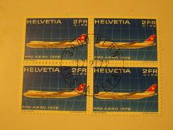 SUISSE  BLOC    PRO AERO  1972 - Blocchi & Foglietti