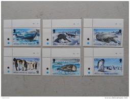 Y209 BAT Brit Antarctic Terr., Gebiete Antarktis 193 - 198 Mnh WWF Robbe Pinguin - Ungebraucht