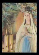 Postal 3D. *Nuestra Señora De Lourdes* Ed. Fisa Nº R-8. Nueva. - Estereoscópicas
