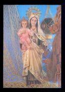 Postal 3D. *Nuestra Señora Del Carmen. Patrona De La Marina* Ed. Fisa Nº R-18. Nueva. - Estereoscópicas