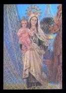 Postal 3D. *Nuestra Señora Del Carmen. Patrona De La Marina* Ed. Fisa Nº R-18. Escrita. - Estereoscópicas