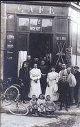 MOURMELON LE GRAND CAFE LACHAUD 1909 CP PHOTO TOP - France