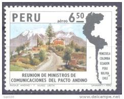 1974. Peru,  And´s Pact, Mich. 990, 1v, Mint/** - Peru