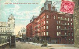 A-17.6709 :  GRAND UNION HOTEL AND GRAND CENTRAL DEPOT NEW-YORK - Cafés, Hôtels & Restaurants