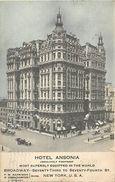 A-17.6710 :  HOTEL ANSONIA  BRODWAY NEW-YORK - Cafés, Hôtels & Restaurants