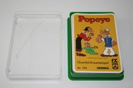 Speelkaarten - Kwartet, Popeye, Nr 199, Hema - Schmid, *** - - Cartes à Jouer Classiques