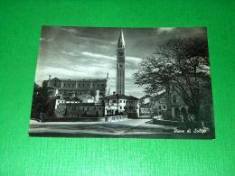Cartolina Pieve Di Soligo - Particolare 1956 - Treviso