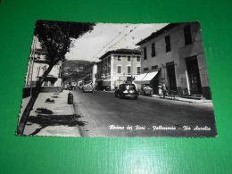Cartolina Vallecrosia - Via Aurelia 1953 - Imperia