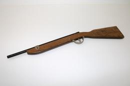Vintage TOY GUN :  RIFLE - L=53cm - 1950s - Keywords : Cap - Cork Gun - Rifle - Revolver - Pistol - Tin - Armes Neutralisées