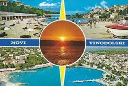 Crotia  -  Novi Vinodolski. Views  # 06472 - Croatia