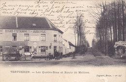 Tervueren - Les 4 Bras Et Route De Malines (auberge, Estaminet, Animation, Attelage, Oldtimer, Lagaert... - Tervuren