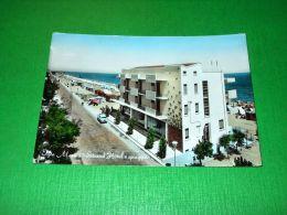 Cartolina Igea Marina - Strand Hotel E Spiaggia 1960 - Rimini