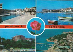 Crotia  -  Pozdrav Iz Portoroza. Views   # 06476 - Croatia