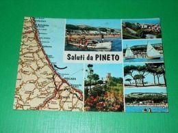 Cartolina Saluti Da Pineto  - Vedute Diverse 1970 Ca - Teramo