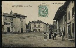 69 CHENELETTE (RHÔNE )..ANIMEE...HÔTEL DE LA PLACE..HÔTEL DU NORD BESSON..GROS BETAIL..BOULANGERIE LA PLACE...C2298 - France