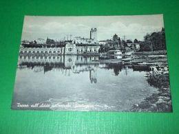 Cartolina Trezzo Sull'Adda - Centrale Idroelettrica 1950 Ca - Milano (Milan)