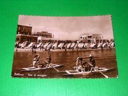 Cartolina Bellaria - Vita Da Spiaggia 1951 - Rimini