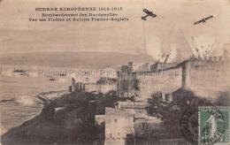 Dardanelles Avions Franco Anglais Guerre Marine Ligne Verticale Du Scanner - Turchia