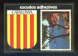 Postal Adhesiva. *Catalunya. S´Agaro. Vista...* Ed. Confeiram. Nueva. - Materiales