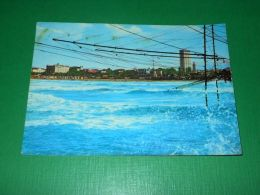 Cartolina Rimini - Mareggiata 1962 - Rimini
