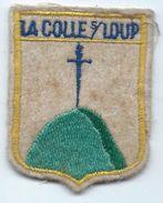 Écusson Tissu à Coudre Ancien/ Armoiries De Ville/La Colle Sur Loup/ Alpes Maritimes/années 60-70               ET150 - Ecussons Tissu