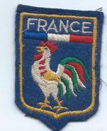Écusson Tissu à Coudre Ancien/ Armoiries De Ville/France / Coq Gaulois/années 60-70             ET157 - Ecussons Tissu