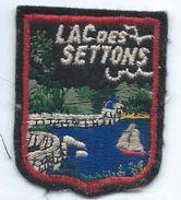 Écusson Tissu à Coudre Ancien/ Armoiries De Ville/Lac Des Settons/ Niévre /années 60-70             ET158 - Ecussons Tissu