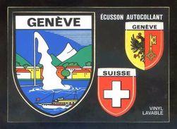 Postal Adhesiva. *Genève* Ed. Coloris Nº VGE 3. Nueva. - Materiales